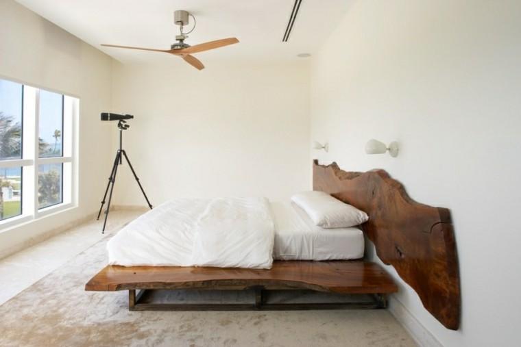 como pintar una habitacion cabecero blanco ventilador