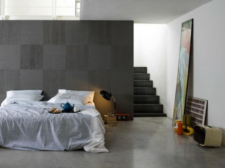 como pintar una habitacion cama pieles textura