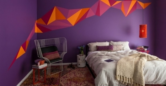 Como pintar una habitacion, creando un espacio diferente.