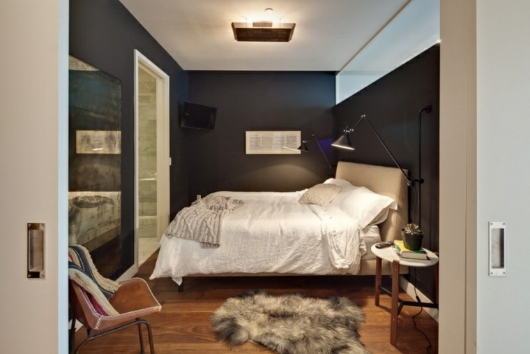 como pintar una habitacion estilo oscura sillas
