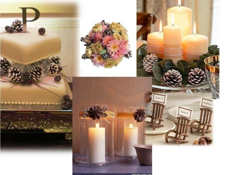 cono velas romantico decoracion variantes
