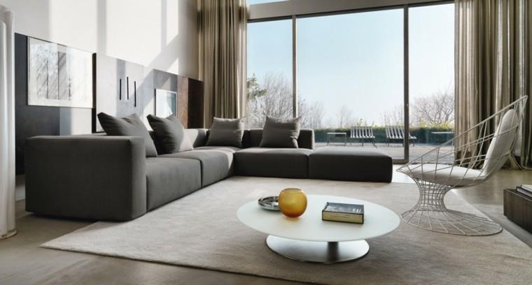 cortinas casa elegante sofa doradas