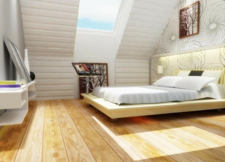 cuadro marron estetica madera techo