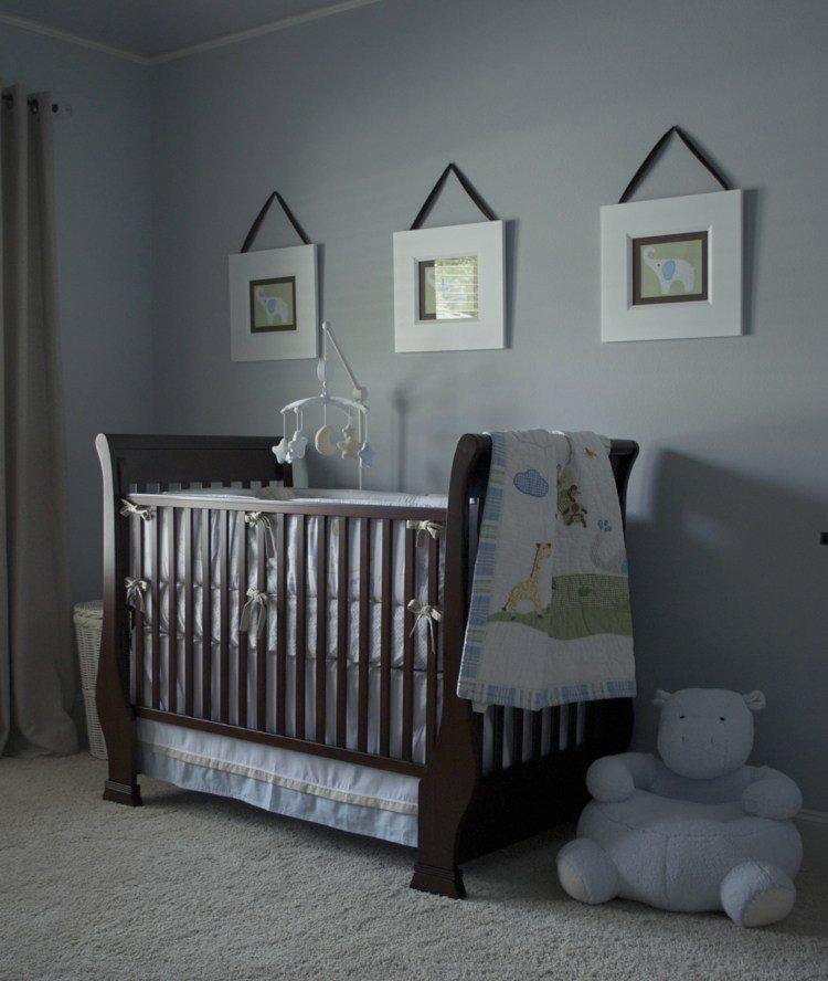 cuadros decoracion cintas oso gris