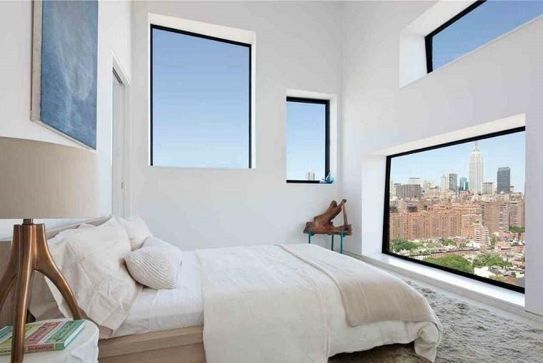 dormitorio pequeño vistas ciudad