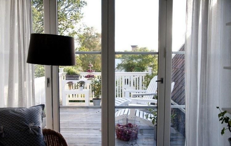 decoracion balcon estilo minimalista