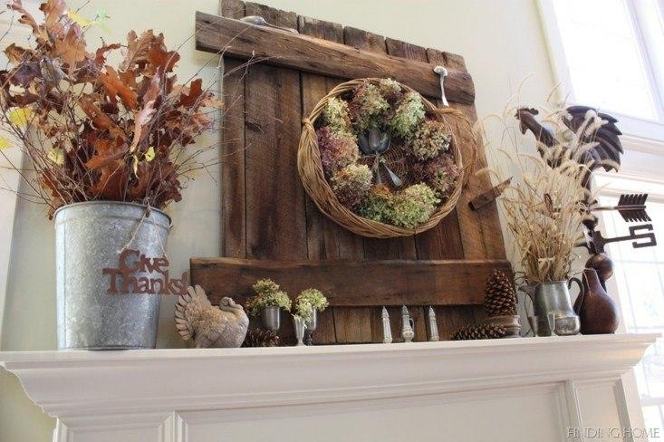 decorar casa otoño palet