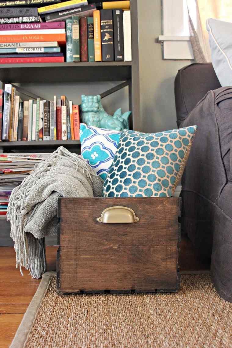 Muebles Reciclados Hechos Con Cajas De Frutas # Muebles Reciclados Originales