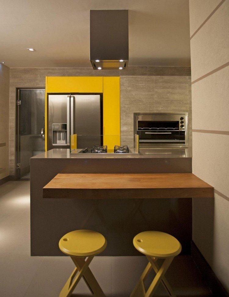 Decoracion de cocinas a todo color 78 ejemplos for Sillas cocina amarillas