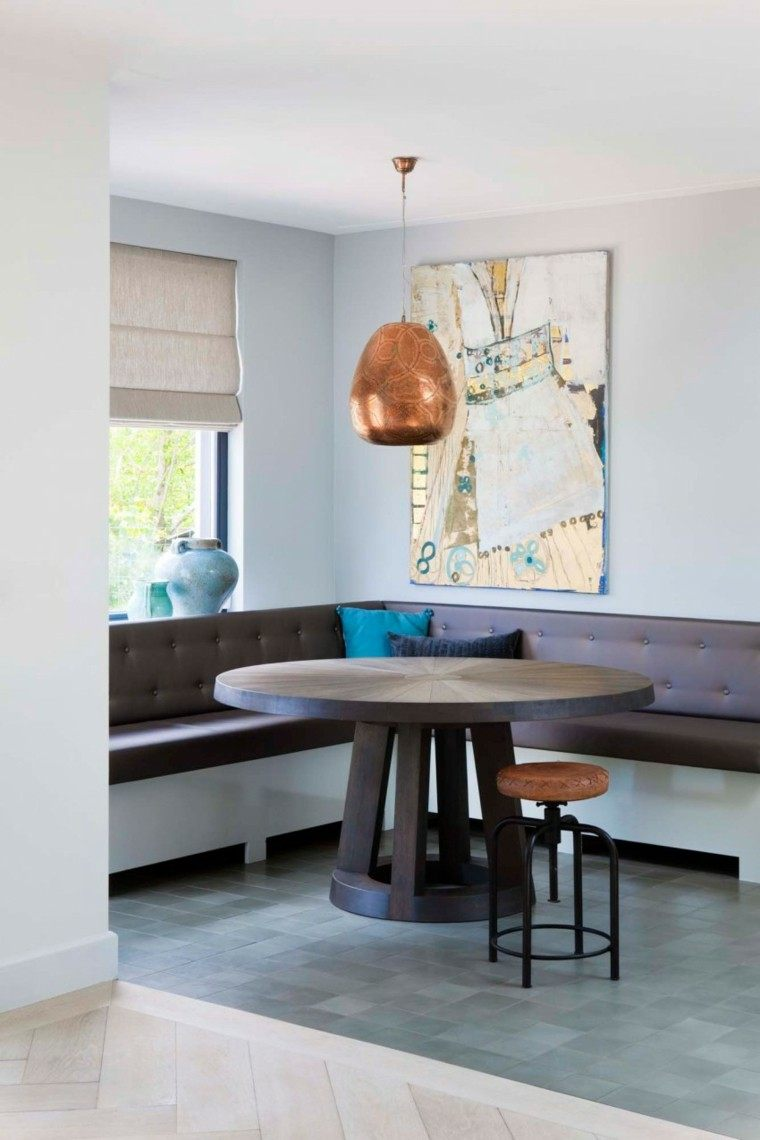 Decoracion de comedores m s de 50 ideas para impresionar - Comedores mesa redonda ...