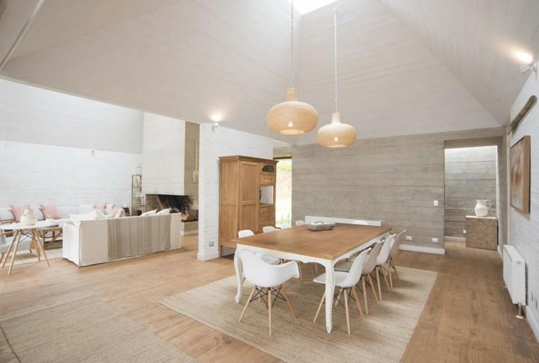 Decoracion de comedores m s de 50 ideas para impresionar Comedores en madera modernos