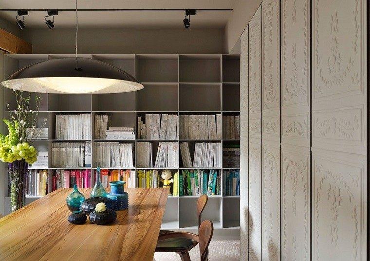 decoracion de cuartos jarrones decorativos mesa comedor ideas