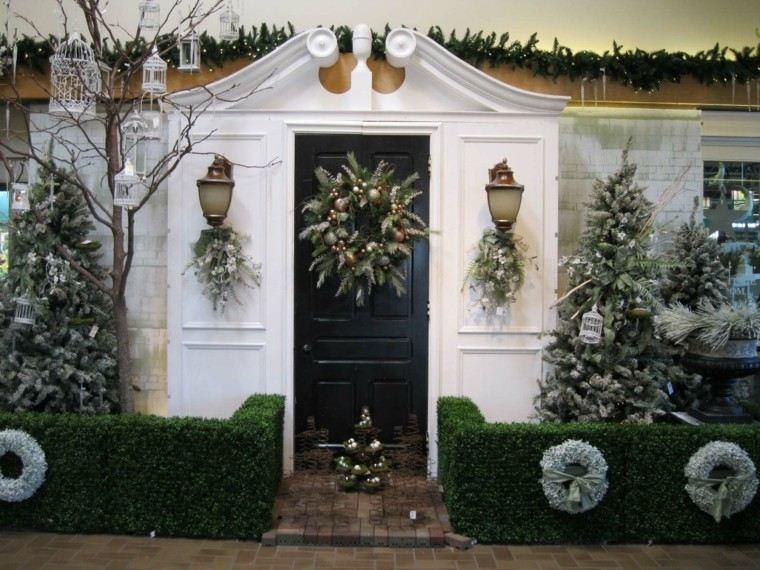 decoracion de navidad elegante exteriores casa
