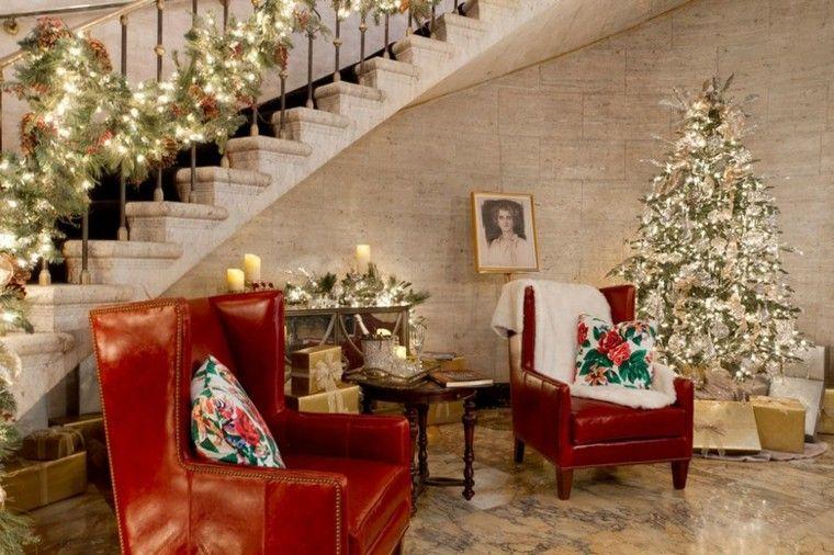 Tips Decoración Navidad – Ideas Crear Interiores Navideños En esta deliciosa galería de imágenes les mostramos una amplia variedad de interiores decorados para Navidad, y en este caso se trata de las propuestas para Navidad que vienen de la mano de la firma Pottery Barn, la que cada año renueva su catálogo de productos y presenta más novedades navideñas.