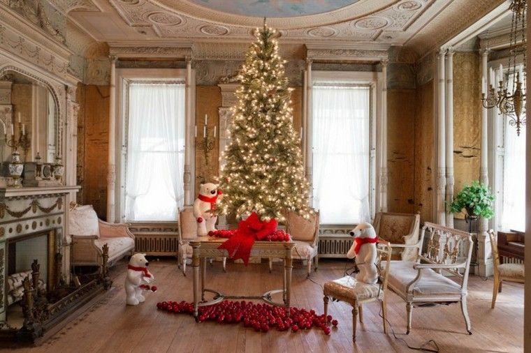 Decoracion de navidad 50 ideas al estilo americano - Decoracion estilo americano ...