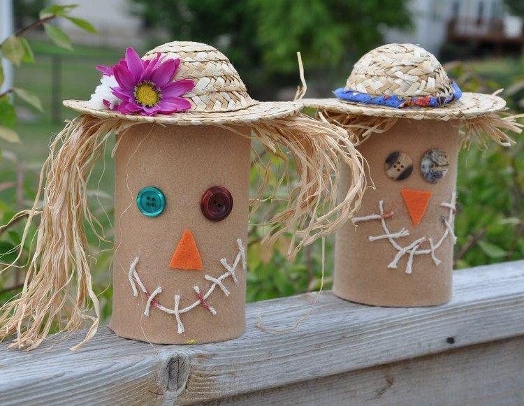 decoracion infantil diseño caras sombrero rollos