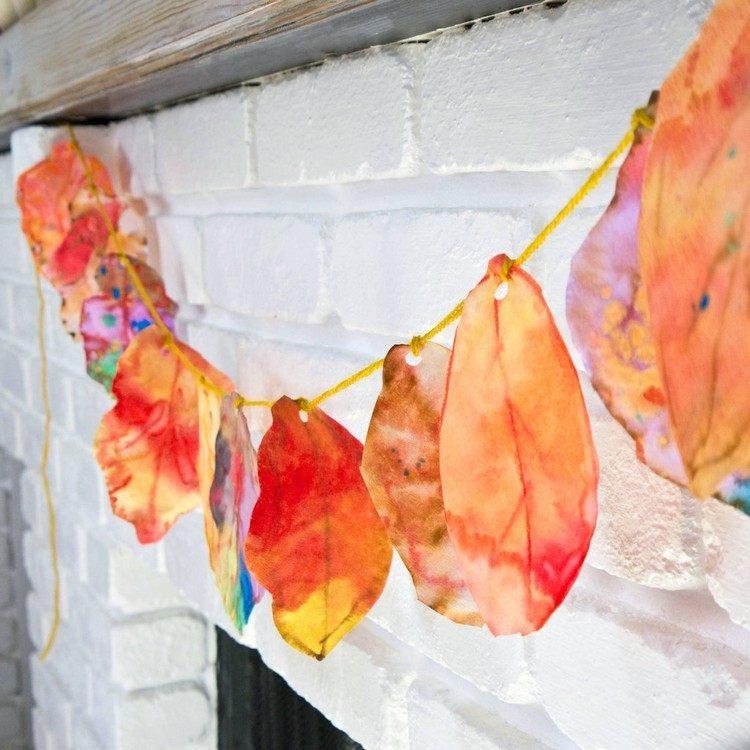 decoracion infantil diseño cuerda otoño colgantes