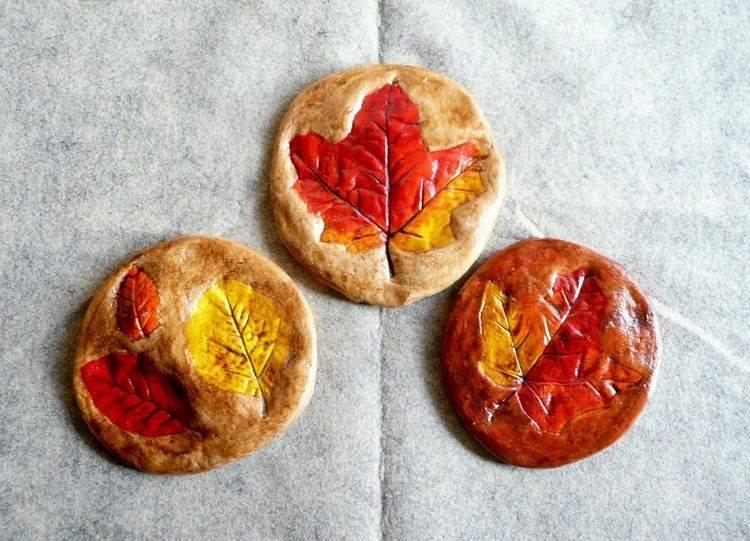 decoracion infantil diseño galletas hojas figuras