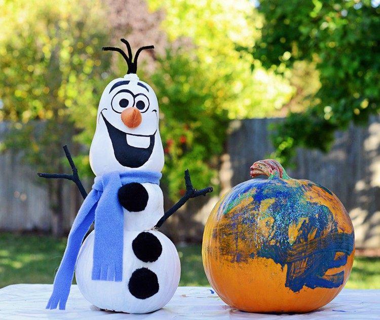 decoracion infantil diseño muñeco nieve patio