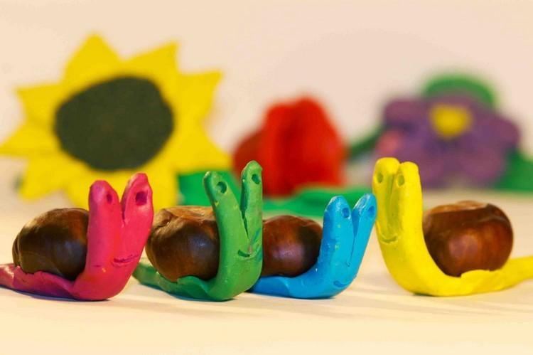 decoracion infantil diseño muñeco plastilina colorido