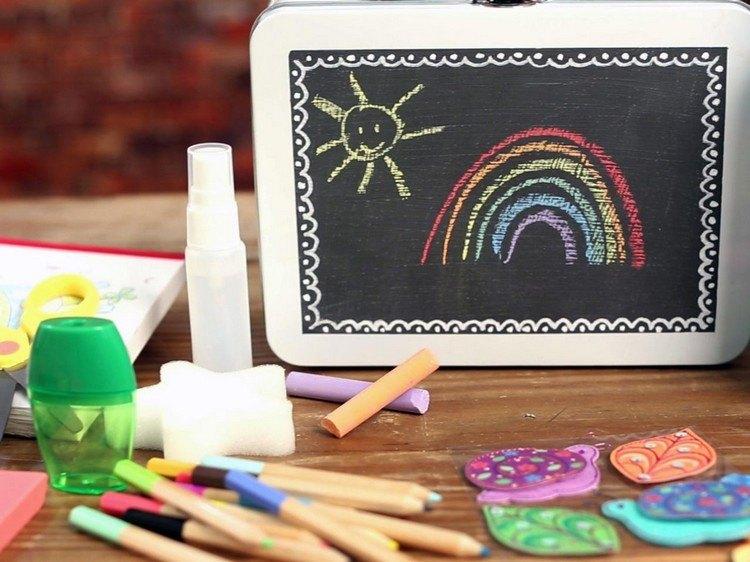 decoracion infantil diseño pizarras juego colores