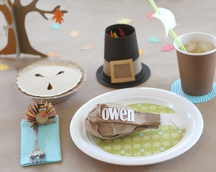 decoracion infantil diseño platos cartulina cartulina