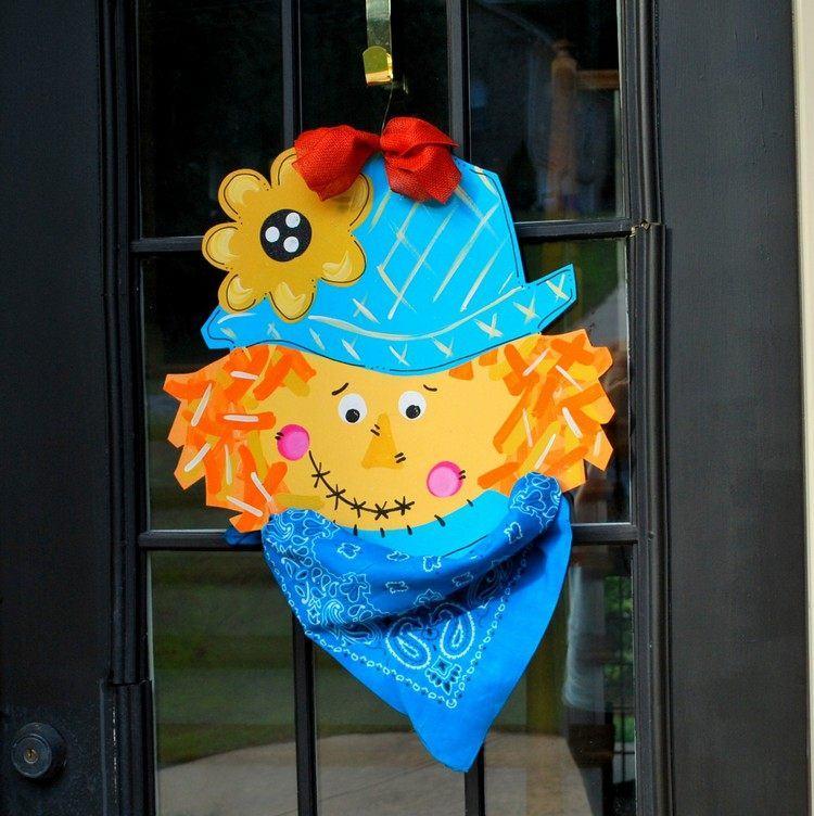 decoracion infantil diseño puertas colorido papel
