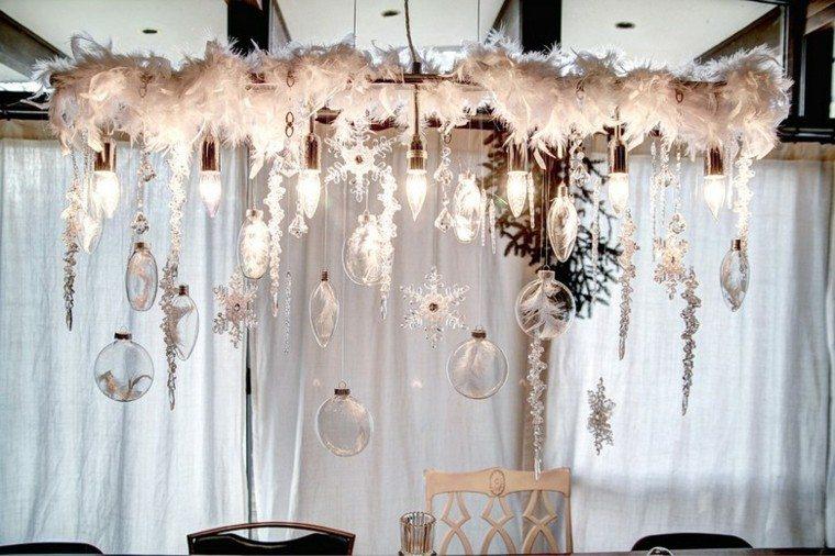 decoracion-navidad-estilo-americano-plumas-copos-nieve