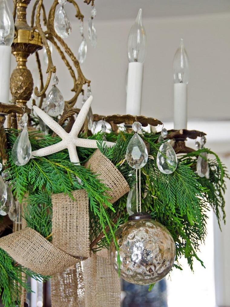 decoracion navidad lampara bolas navidenas decorativas ideas