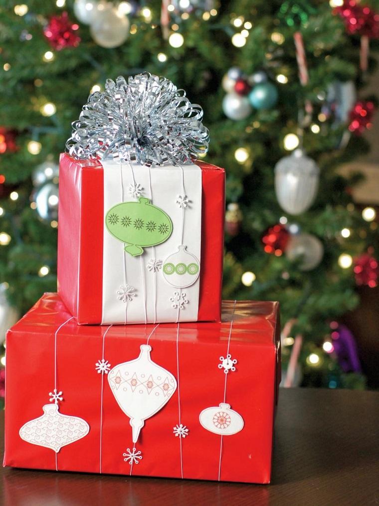 decoracion navidad regalos esparcidos casa ideas