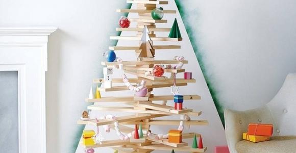 Decoracion navideña al estilo escandinavo muy natural