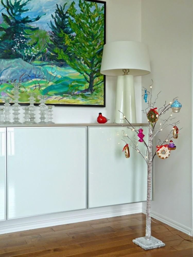 decoracion navidena escandinava ornamentos colores ideas