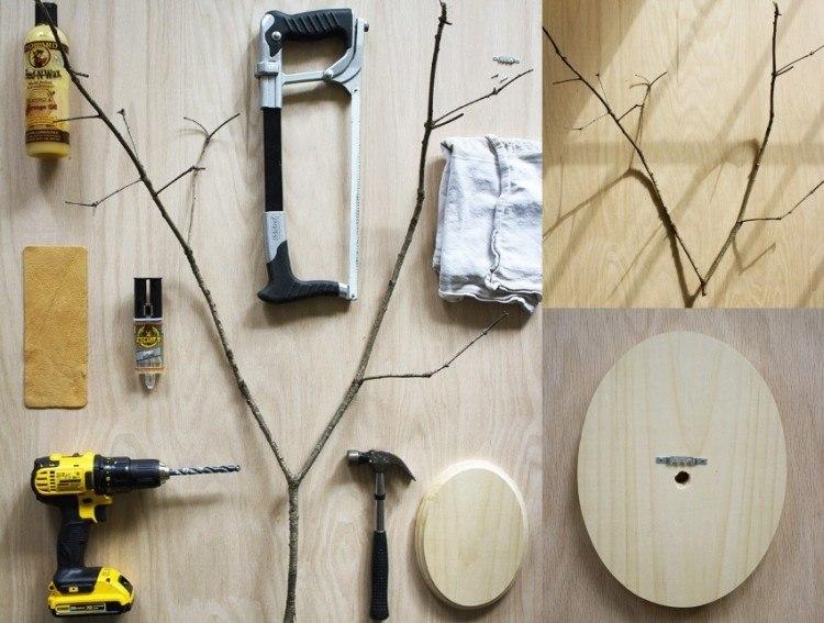 decoracion navidena escandinava rama arbol pino ideas interesante