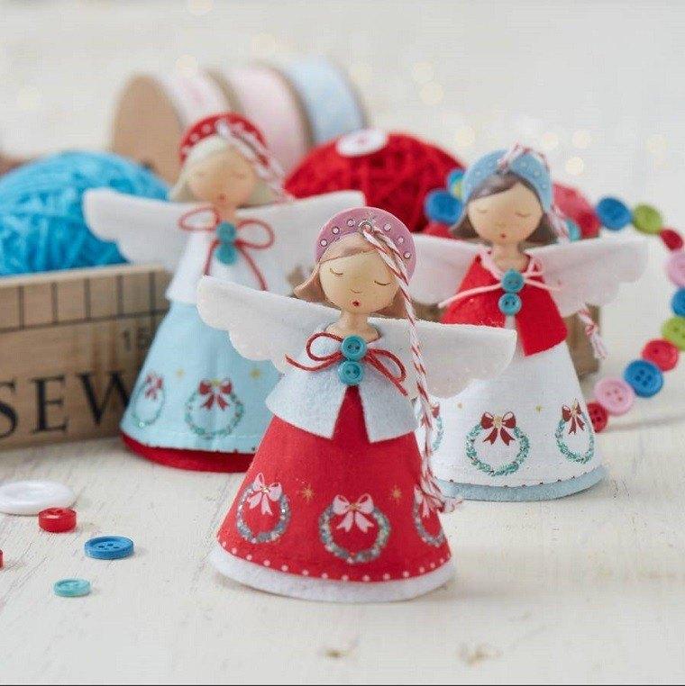 Decoracion navide a vintage 25 ideas brillantes for Decoracion navidena artesanal