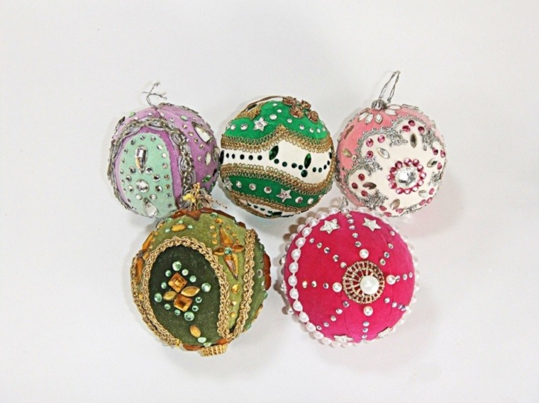 decoracion navidena vintage bolas arbol navidad ideas