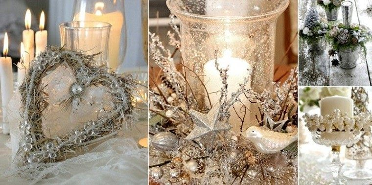 Decoracion navide a vintage 25 ideas brillantes - Decoracion vintage ideas ...