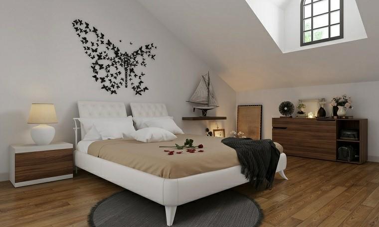 Decoracion rustica 50 ideas para interiores impresionantes - Decoracion pared dormitorio ...