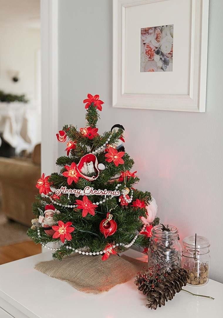 Decoracion navide a vintage 25 ideas brillantes - Decoracion de arboles navidenos para ninos ...