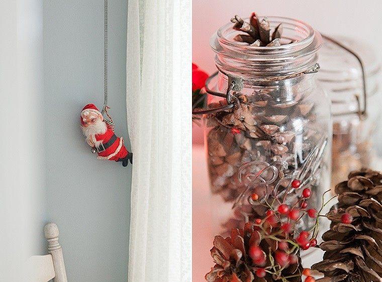 Decoracion navide a vintage 25 ideas brillantes - La casa vintage ...