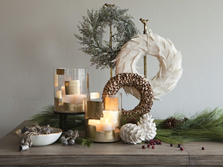 decorado elegante mesa casa madera