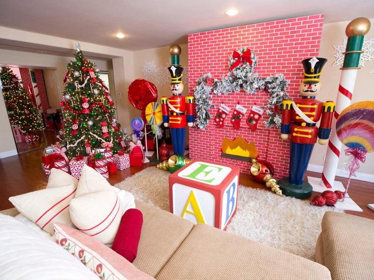 Decoracion navidad brillante en 50 ideas que impresionan - Decoracion navidena para negocios ...