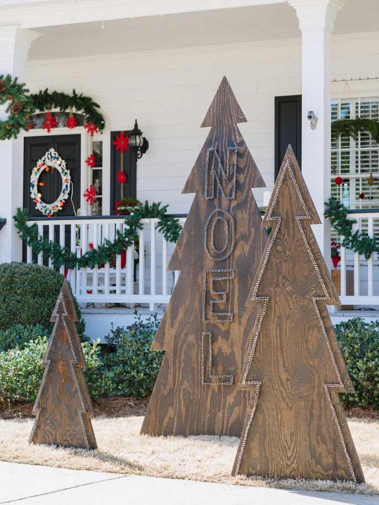Modern Display Christmas Trees