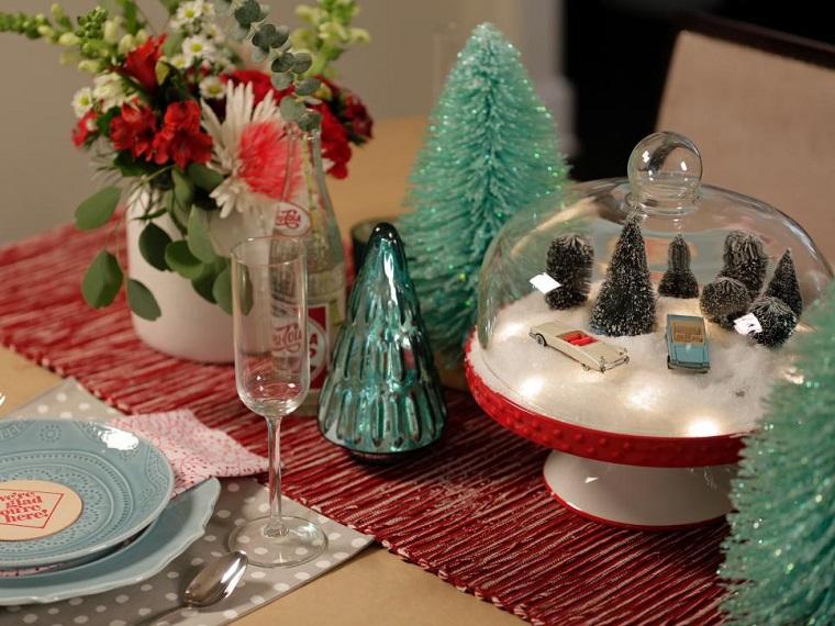 Decoracion navidad brillante en 50 ideas que impresionan for Adornos originales para decorar casa