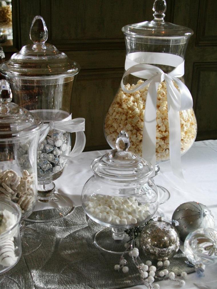decorar habitacion navidad palomitas tarros cristal ideas