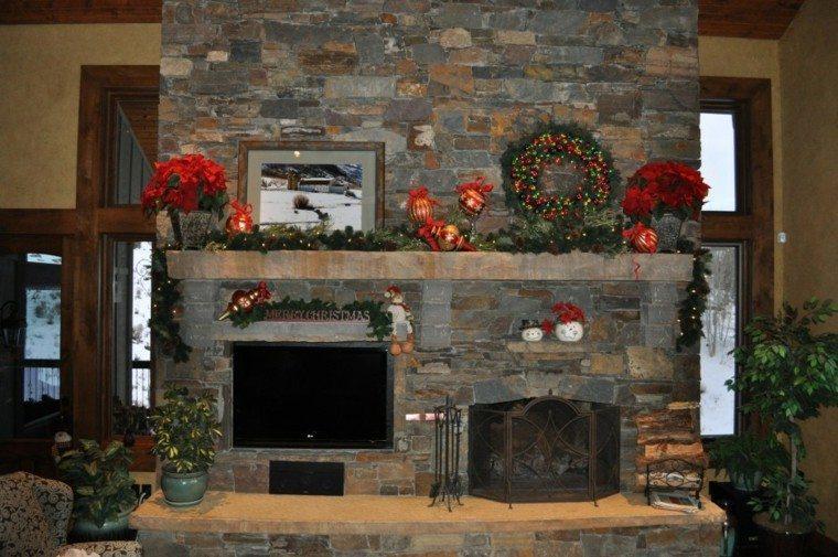 decorativo navidad elegante estante verde