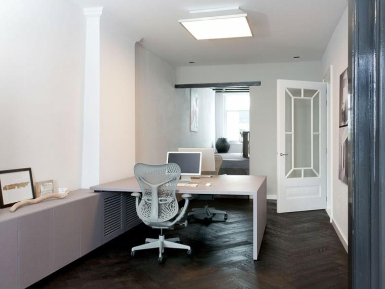 despacho estilo moderno diseño minimalista
