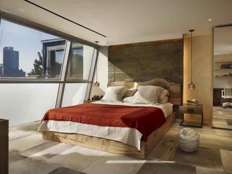 detalle cama madera ventana textura