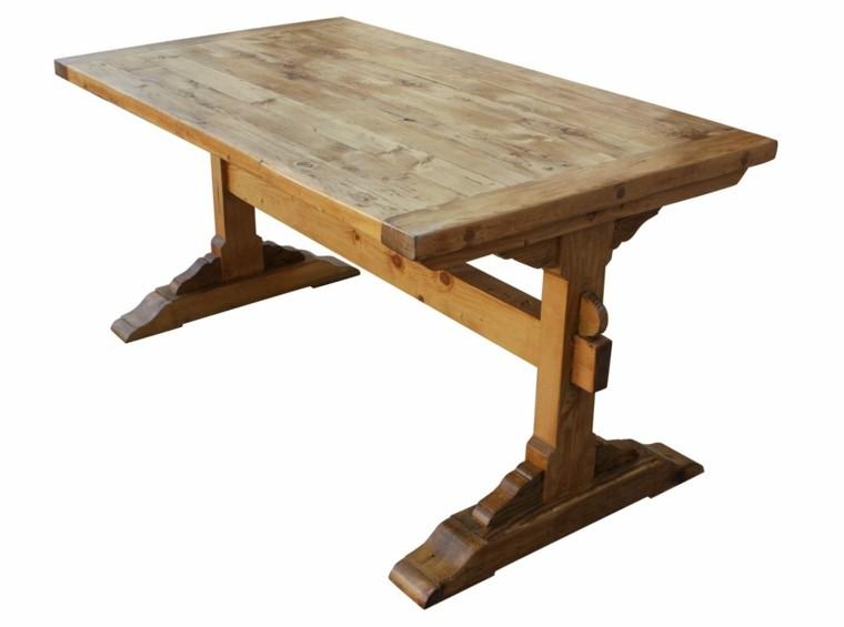 detalle madera centro comedor clara