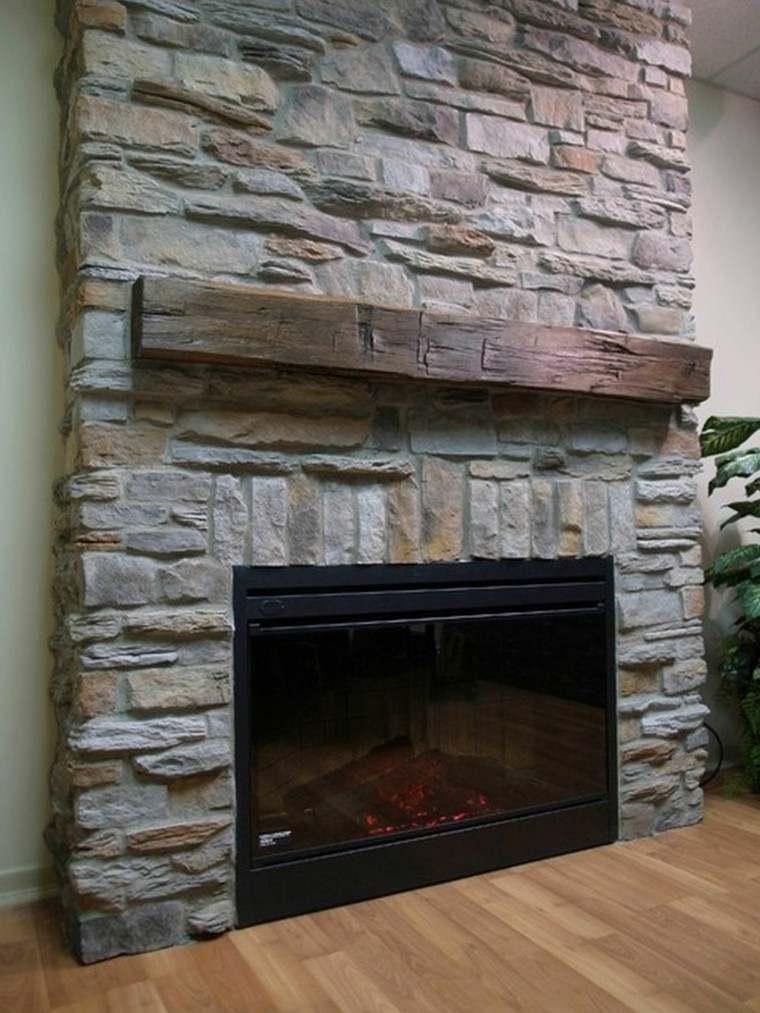 detalle madera elegante rocas suelo