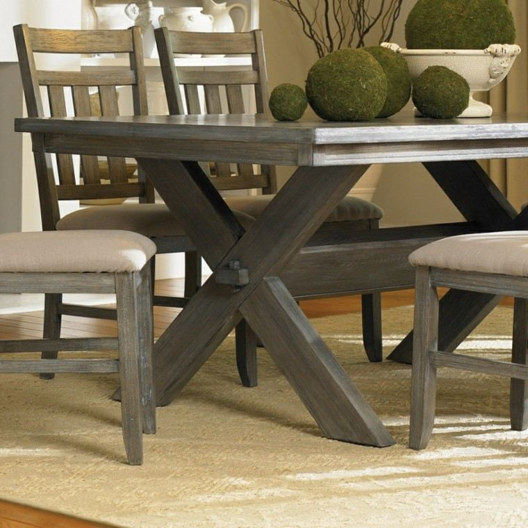 detalle mesa caballete silla esferas
